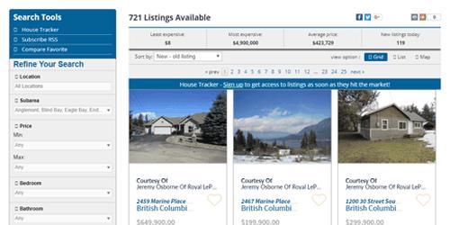 idx property search
