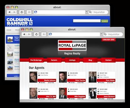websites for real estate broker
