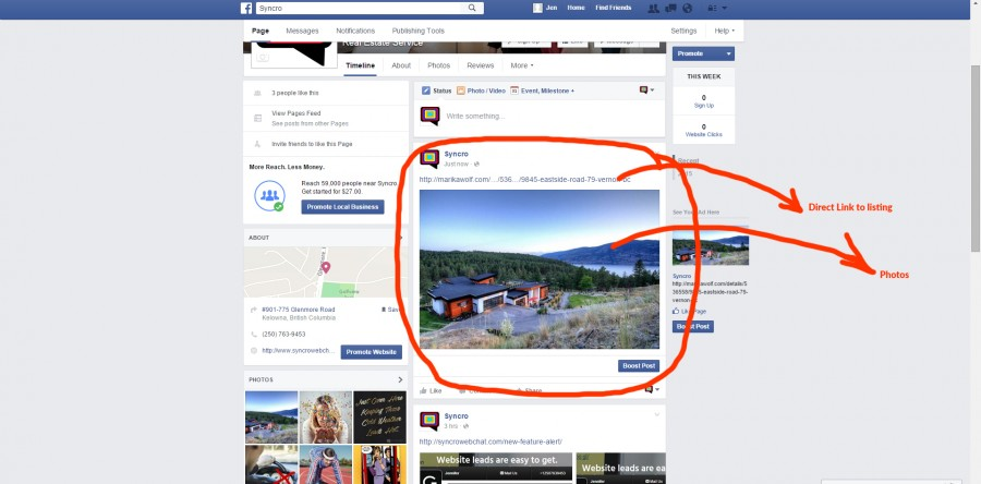 6 steps to add a direct listing link to your Facebook page  