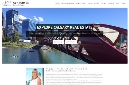 Real Estate Website Design, Real Estate Agent Website