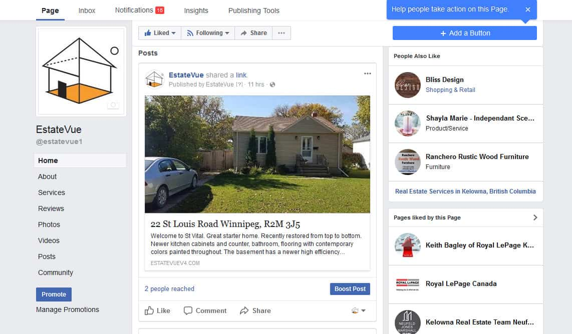 facebooks syndication for real estate agents