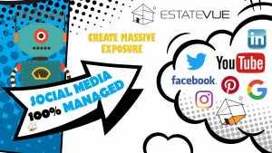 social media management with massive exposure