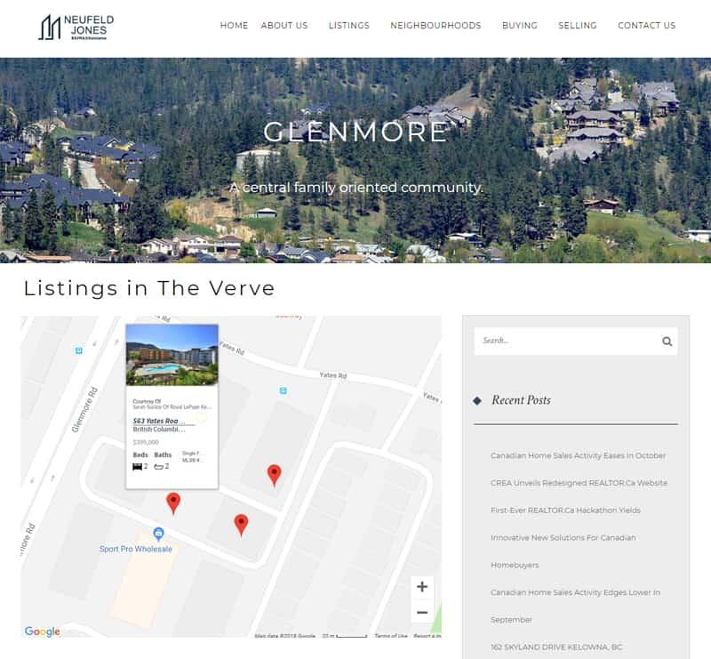 real estate website designer canada, real estate web design, social media platform for realtors in canada