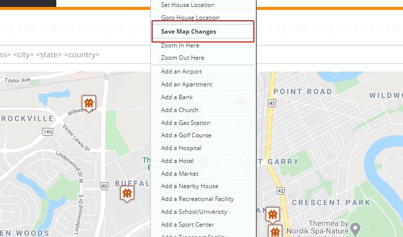 save map